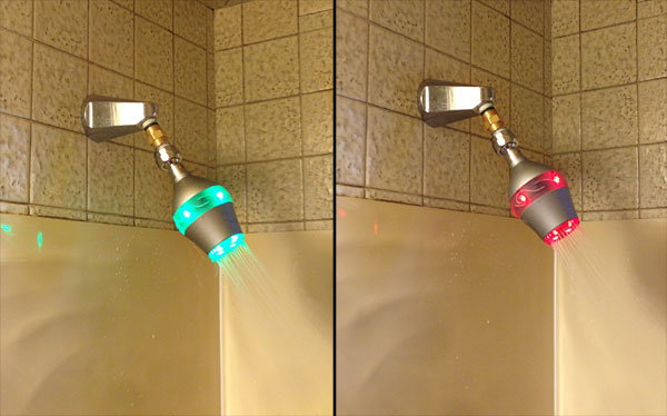 Students make high pressure shower heads.