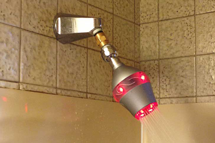 Efficient High Pressure Shower Heads Developed by University Students
